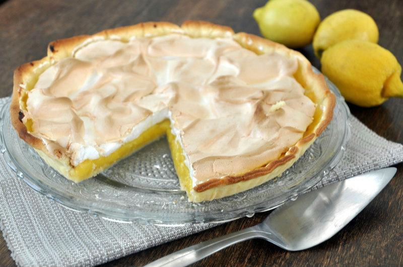 L 39 inratable tarte au citron meringu e - Recette tarte au citron sans meringue ...
